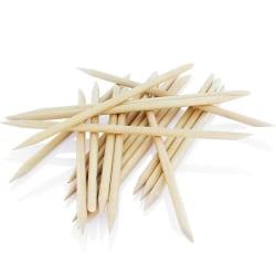 Trä stickor - 20-pack - Längd: 95 mm