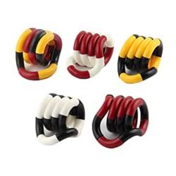 5 st Fidget Twister Toys Finger Novelty Gag, Deformation rep flerfärgad 5