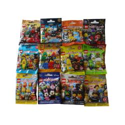 12st påsar med Lego Minifigures - Olika Serier flerfärgad