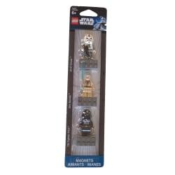 3st Kylskåpsmagneter Star Wars 853126 - Lego
