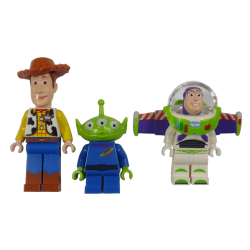 3st Toy Story Lego figurer - Woody Alien & Buzz Lightyear 852949