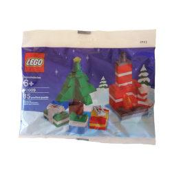 Lego 40009 Julgran med öppen spis