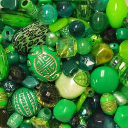 Akrylmix i gröna toner, 40g