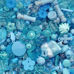 Akrylmix i ljusblåa toner, 40g