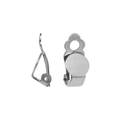Clips för öron utan hål, rostfritt kirurgiskt stål, 2 par