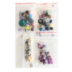 100 blandade pärlor prova på pärlpaket
