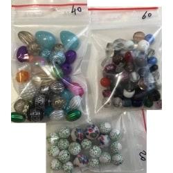 3 påsar blandade söta pärlor hobby