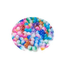 490 flerfärg glaspärlor mixade 4 mm