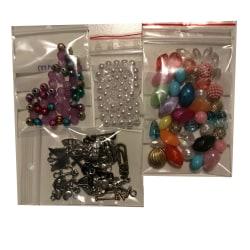 blandade många pärlor prova på paket