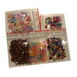 blandade pyssel fina pärlor prova på 58 gram