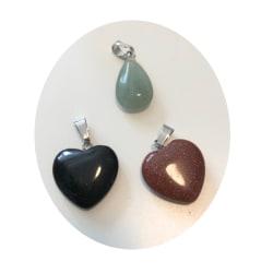 droppe hjärtan ädelstens hängen 3 pack olika