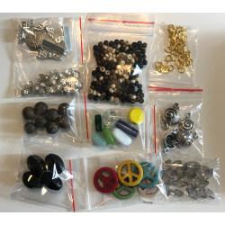 paket göra smycken prova kit mix pärlor