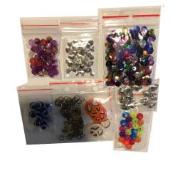 paket pyssel pärlor mix blandning olika prova på