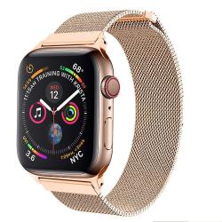Armband för Apple Watch Milanesisk 42/44mm ROSE/GULD
