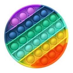 Rainbow / Fidget / Toy / Pop it / Leksak / Antistress