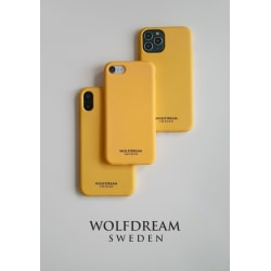 Honey Yellow -MOBILSKAL I TPU TILL IPHONE 12PROMAX gul