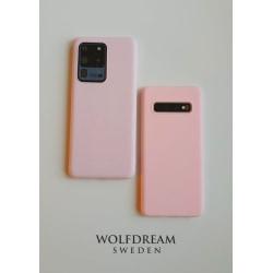 LJUS ROSA MOBILSKAL I TPU till Samsung S10PLUS rosa