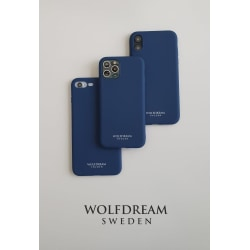 Navy Blue -MOBILSKAL I TPU TILL IPHONE 7/8PLUS blå