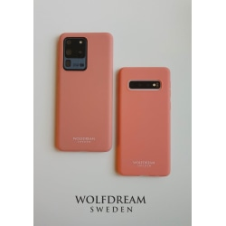 PEACH MOBILSKAL I TPU till Samsung S10 orange