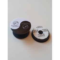 POPGRIP SOCKET - Svart/Vit Mobilhållare från Wolfdream Sweden vit