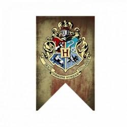 Harry Potter vimpel / flagga - stor 125*75 cm - Hogwarts Hogwarts