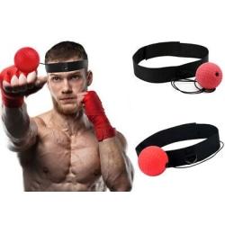 Pannbands boxning - teknik övning - den rätta bollen