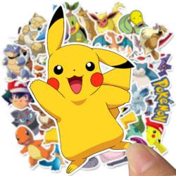 Pokemon klistermärken / stickers - 50 pack