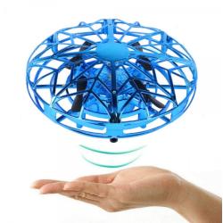 Självflygande drönare ufo med ir-sensorer - Blå blå