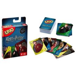 UNO med HARRY POTTER motiv - kortspel