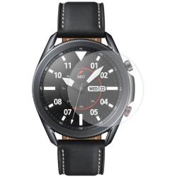 2-Pack Samsung Galaxy Watch 3 45mm Härdat Glas Skärmskydd Transparent