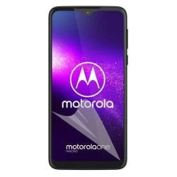 3-Pack Motorola One Macro Skärmskydd - Ultra Thin Transparent