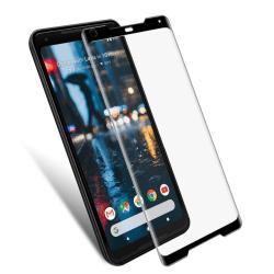 Google Pixel 2 XL Heltäckande 3D Härdat Glas Skärmskydd 0,2mm  Transparent