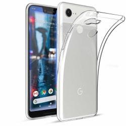 Google Pixel 3 XL Transparent Mjuk TPU Skal Transparent