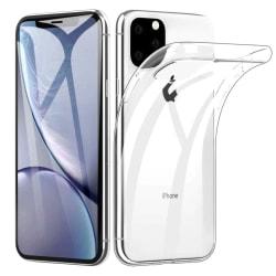 iPhone 11 Pro Genomskinligt Mjukt TPU Skal Transparent