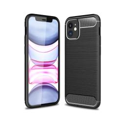 iPhone 12 Mini Anti Shock Carbon Stöttålig Skal Svart