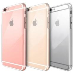 iPhone 6 Plus Genomskinligt Mjukt TPU Skal Transparent