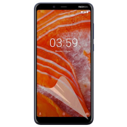 3-Pack Nokia 3.1 Skärmskydd - Ultra Thin Transparent