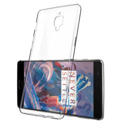 OnePlus 3 / 3T Genomskinligt Mjukt TPU Skal Transparent