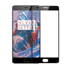 OnePlus 3T 3D Härdat Glas Skärmskydd 0,3mm Transparent
