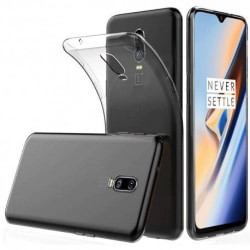 OnePlus 6T Transparent Mjuk TPU Skal Transparent
