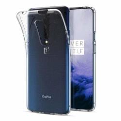 OnePlus 7T Pro Transparent Mjuk TPU Skal Transparent