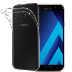 Samsung Galaxy A5 2017 Genomskinligt Mjukt TPU Skal Transparent