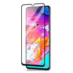 Samsung Galaxy A70 Heltäckande 3D Härdat Glas Skärmskydd Transparent