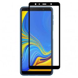 Samsung Galaxy A9 2018 Heltäckande Härdat Glas Skärmskydd 0,2mm Transparent