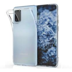 Samsung Galaxy S20 Genomskinligt Mjukt TPU Skal Transparent