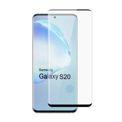 Samsung Galaxy S20 Heltäckande 3D Härdat Glas Skärmskydd 0,2mm Transparent