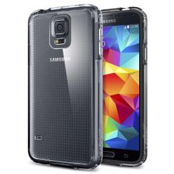 Samsung Galaxy S5 Genomskinlig Mjuk TPU Skal Transparent