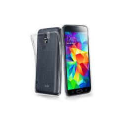 Samsung Galaxy S5 Genomskinligt Mjukt TPU Skal Transparent