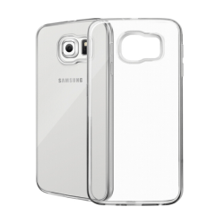 Samsung Galaxy S6 Genomskinligt Mjukt TPU Skal Transparent