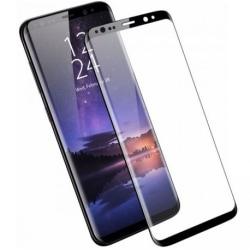 Samsung Galaxy S9 Plus Heltäckande 3D Härdat Glas Skärmskydd Transparent